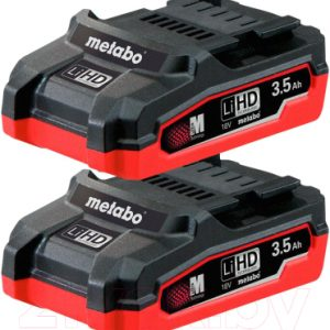 Набор аккумуляторов для электроинструмента Metabo TO346