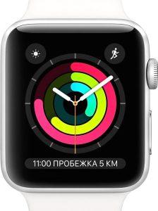 Умные часы Apple Watch Series 3 38mm / MTEY2