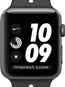 Умные часы Apple Watch Series 3 Nike+ 38mm / MTF12