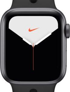 Умные часы Apple Watch Series 5 Nike+ GPS 44mm / MX3W2