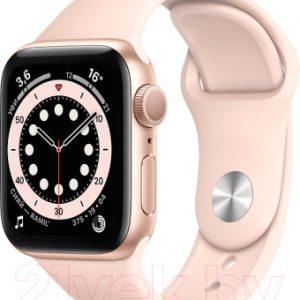 Умные часы Apple Watch Series 6 GPS 40mm / MG123