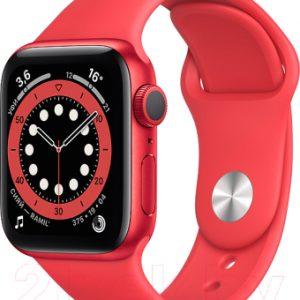 Умные часы Apple Watch Series 6 GPS 44mm / M00M3