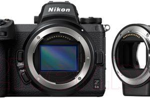 Беззеркальный фотоаппарат Nikon Z6 II + FTZ Adapter Kit